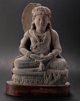 ガンダーラの仏陀像